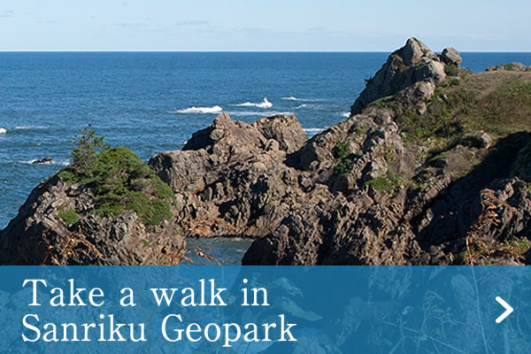 Take a walk in Sanriku Geopark